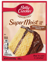 Load image into Gallery viewer, Betty Crocker Yellow Cake Mix