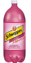 Load image into Gallery viewer, Schweppes Raspberry Ginger Ale 2L