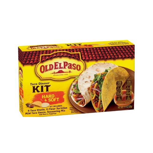 Old El Paso Taco Dinner Kit