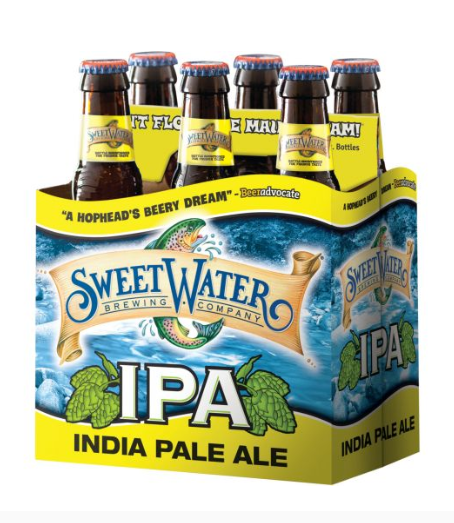 Sweet Water IPA 6 Pack Beer