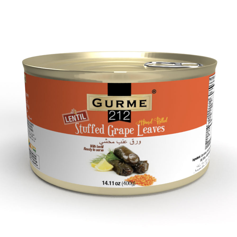 Gurme212 Lentil Stuffed Grape Leaves
