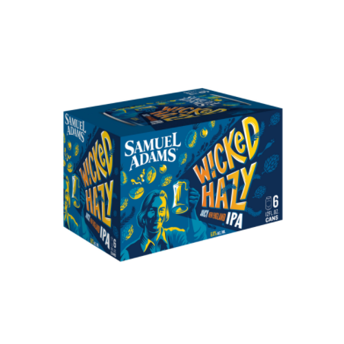Sam Adams Wicked Hazy 6 Pack Beer
