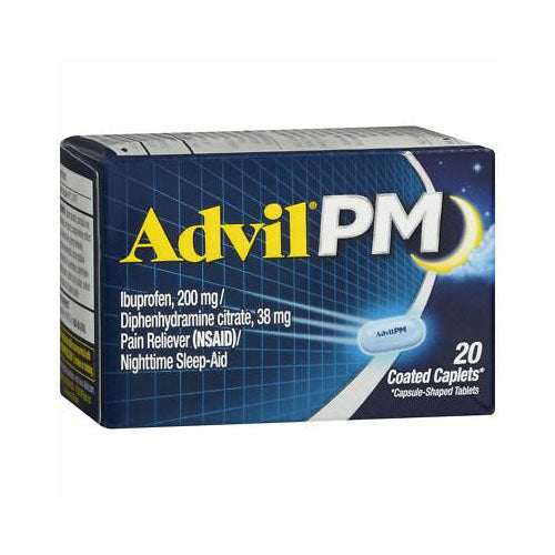 Advil PM Ibuprofen