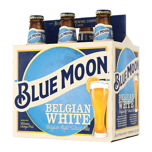 Blue Moon Belgian White 6 Pack Beer