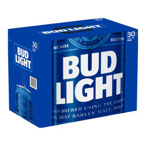 Bud Light 30 Pack Beer