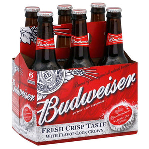 Budweiser 6 Pack Beer