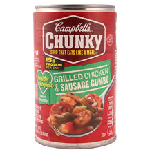 Load image into Gallery viewer, Campbell's Chunky Soup Grilled Chicken and Sausage Gumbo