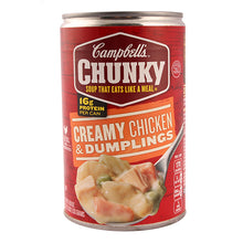 Load image into Gallery viewer, Campbell's Chunky Soup Creamy Chicken and Dumplings