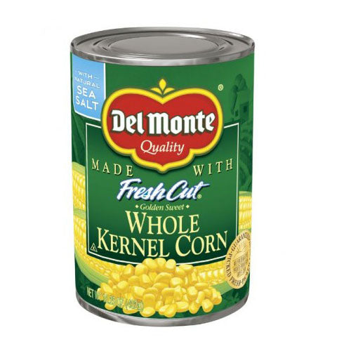 Del Monte Quality Fresh Cut Whole Kernal Corn