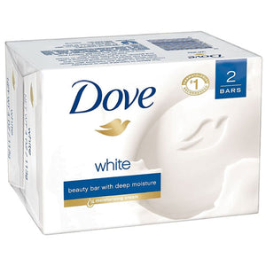 Dove White Beauty Bar with Moisture Bar Soap