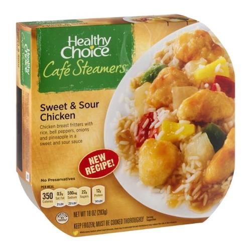 Healthy Choice Sweet and Sour Chicken