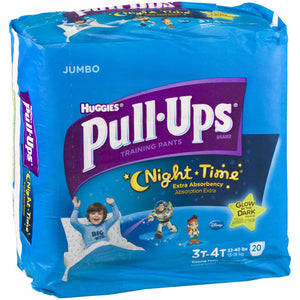 Huggies Pull Up Training Pants Nighttime 3t-4t