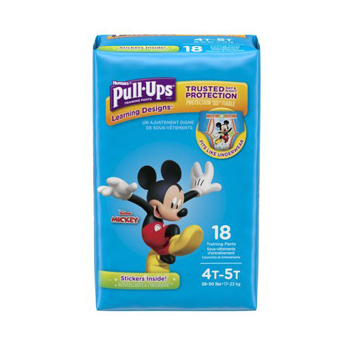 Huggies Pull Up Training Diapers 4t-5t Boys