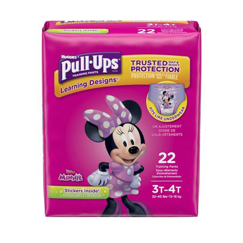 Huggies Pull Ups Trianing Diapers 3t-4t