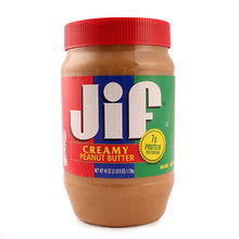 Load image into Gallery viewer, Jif Creamy Peanut Butter - Large 40 Oz.