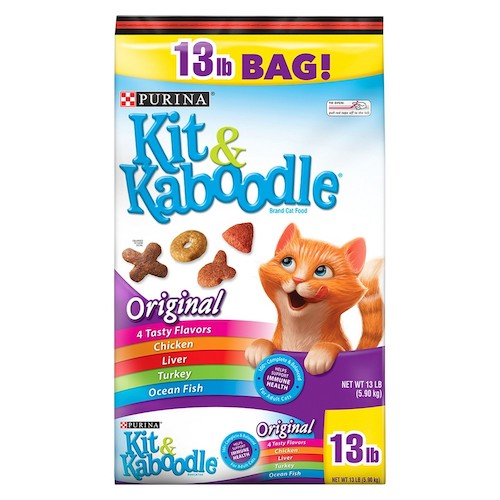 Purina Kit N Kaboodle Cat Food Large