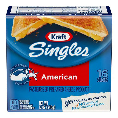 Kraft Singles American Sliced Cheese