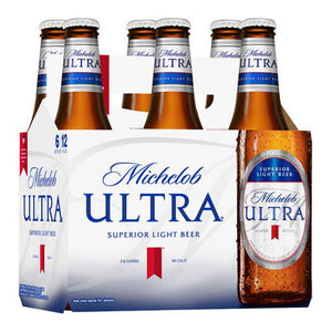 Michelob Ultra 6 Pack Beer