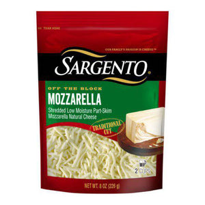 Sargento Off The Block Mozzarella Traditional Cut