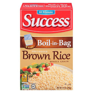 Success Boil in Bag Brown Rice