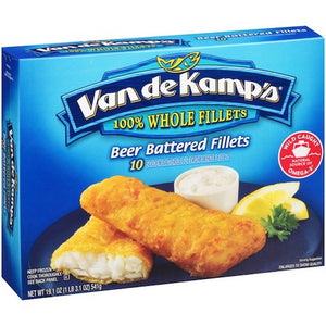 Van de Kamps Beer Battered Fillets