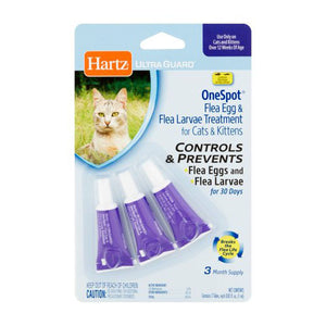 Hartz Flea Egg and Larvae Treatment for Cats and Kittens