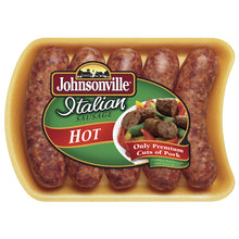Load image into Gallery viewer, Johnsonville Hot Italian Sausage