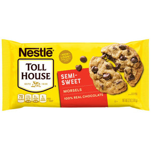 Nestle Toll House Semi Sweet Chocolate Chips Morsels