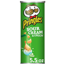 Load image into Gallery viewer, Pringles Sour Cream & Onion Potato Crisps