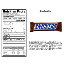 Load image into Gallery viewer, Snickers Candy Bar