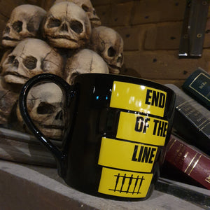 Derren Brown's Ghost Train End of the Line Mug