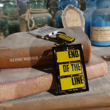 Load image into Gallery viewer, Derren Brown's Ghost Train End of the Line Keyring