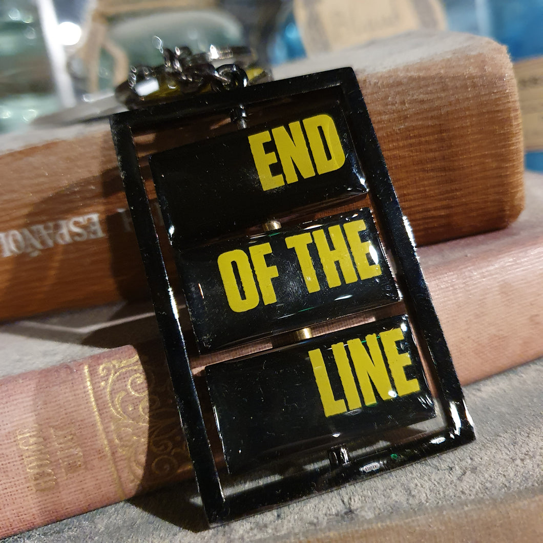 Derren Brown's Ghost Train End of the Line Keyring