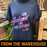 An Island Like No Other Purple T-Shirt
