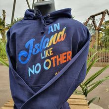 Load image into Gallery viewer, An Island Like No Other Hoody (Blue)