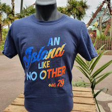Load image into Gallery viewer, An Island Like No Other T-Shirt (Blue)