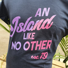 Load image into Gallery viewer, An Island Like No Other T-Shirt (Purple)