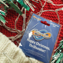 Load image into Gallery viewer, Christmas Thorpe Park Pin Badge