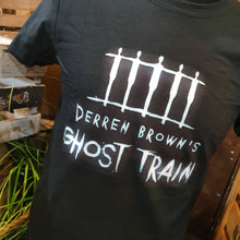 Load image into Gallery viewer, Derren Brown's Ghost Train Logo T-Shirt