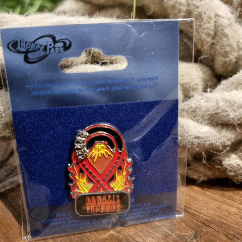 Nemesis Inferno Moving Loop Pin Badge