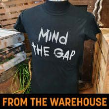 Load image into Gallery viewer, Derren Brown's Ghost Train Mind The Gap Ladies T-Shirt
