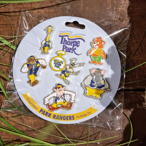Thorpe Park Rangers Pin Set