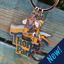 Load image into Gallery viewer, Thorpe Park Retro Keyring