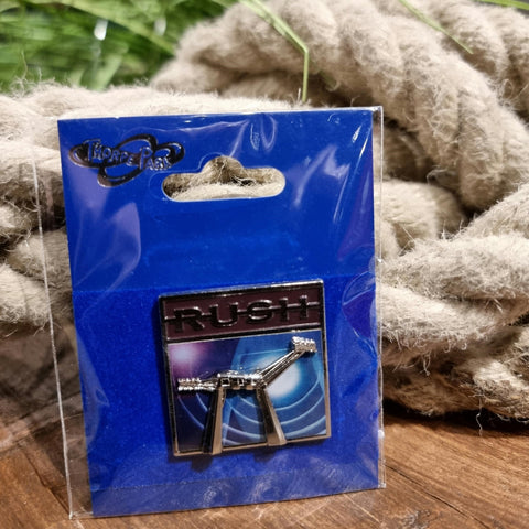 Rush Pin Badge