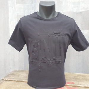 SAW - The Ride Embossed Logo T-Shirt
