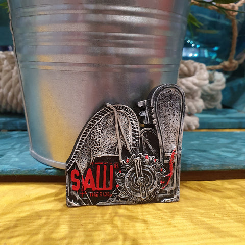 SAW - The Ride Resin Magnet