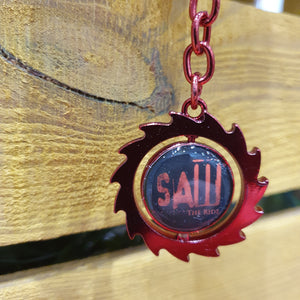 SAW - The Ride Spinning Blade Keyring
