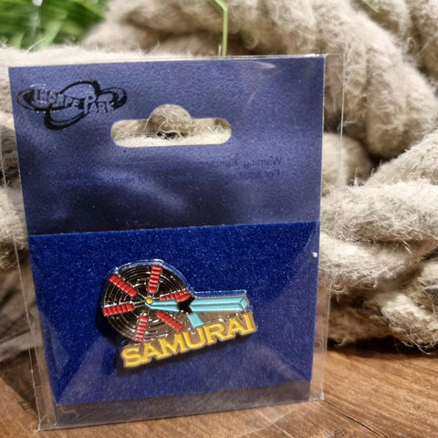 Samurai Pin Badge