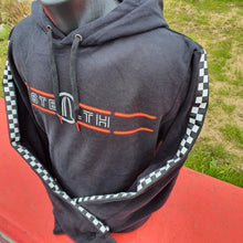 Load image into Gallery viewer, Stealth Checkered Flag Hoody