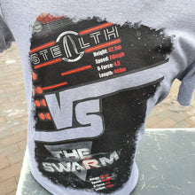 Load image into Gallery viewer, Stealth vs The Swarm T-Shirt